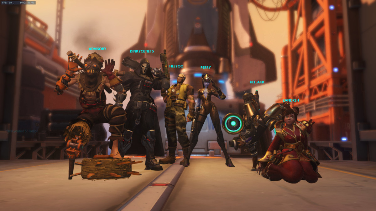 Overwatch Victory Screen