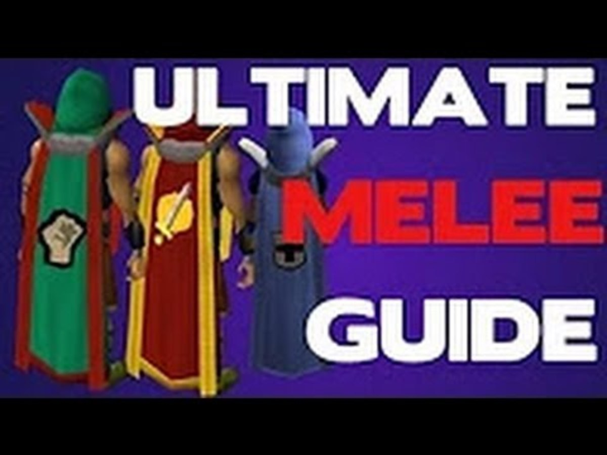 Old School Runescape: 1-99 F2P/P2P Melee Training Guide 2017 OSRS - How to Get 126 Combat and Level Up Fast