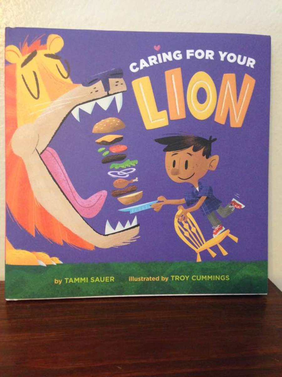 Teaching Children About Pet Care From Tammi Sauer's Book, Caring for Your Lion