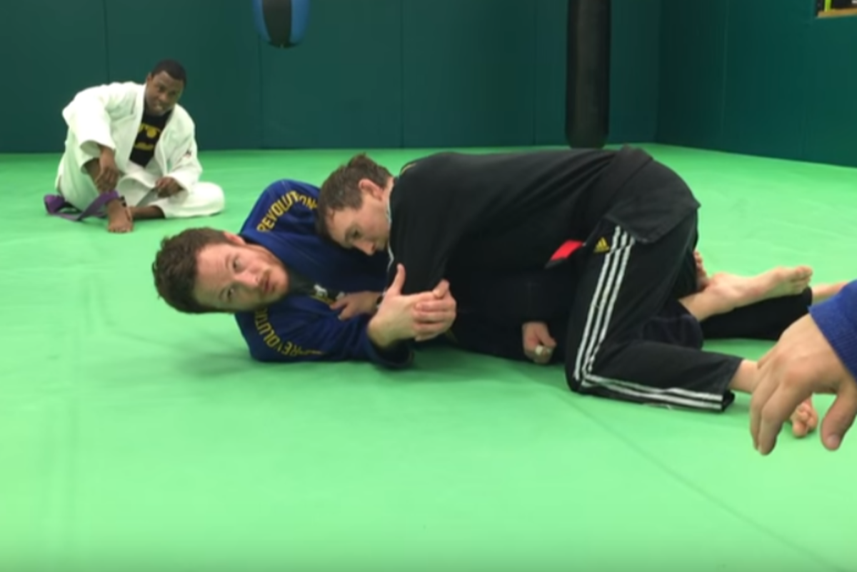 How to Do a Wristlock in BJJ