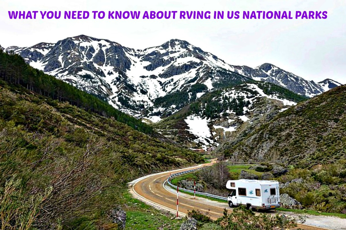 Basic information for RVers planning to visit US National Parks this year