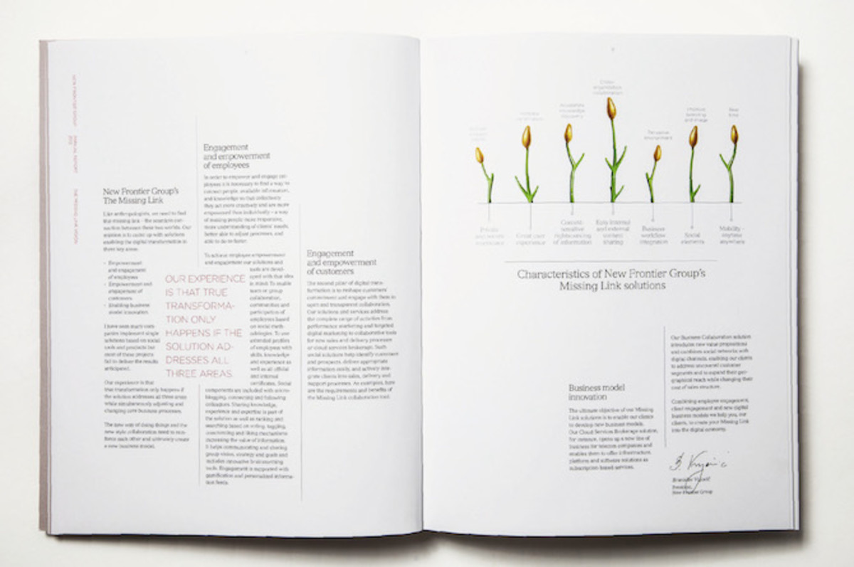 Design elements that bring congruence to a book.
