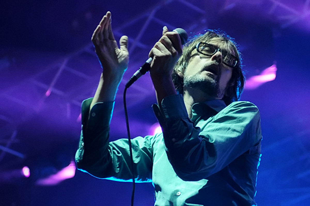 Pulp live at The Bright Side festival in 2011.