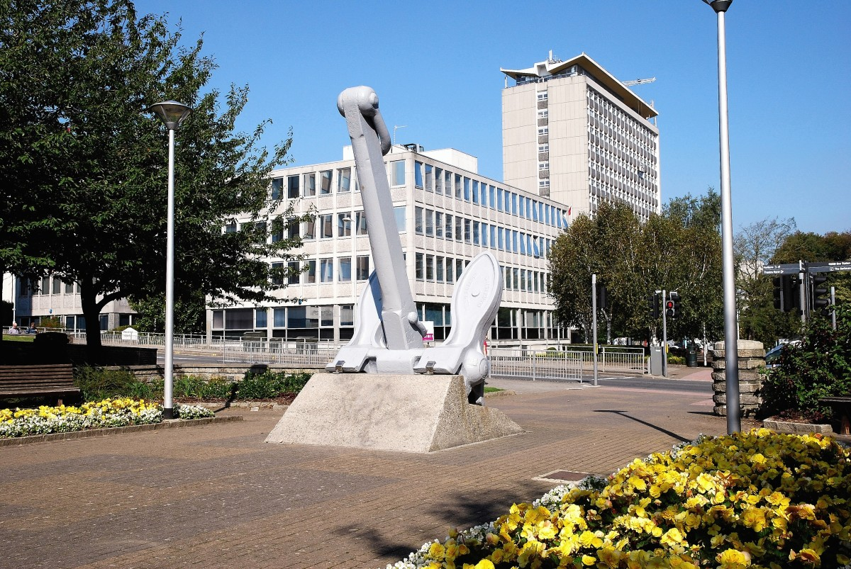A view of Plymouth's Civic Centre
