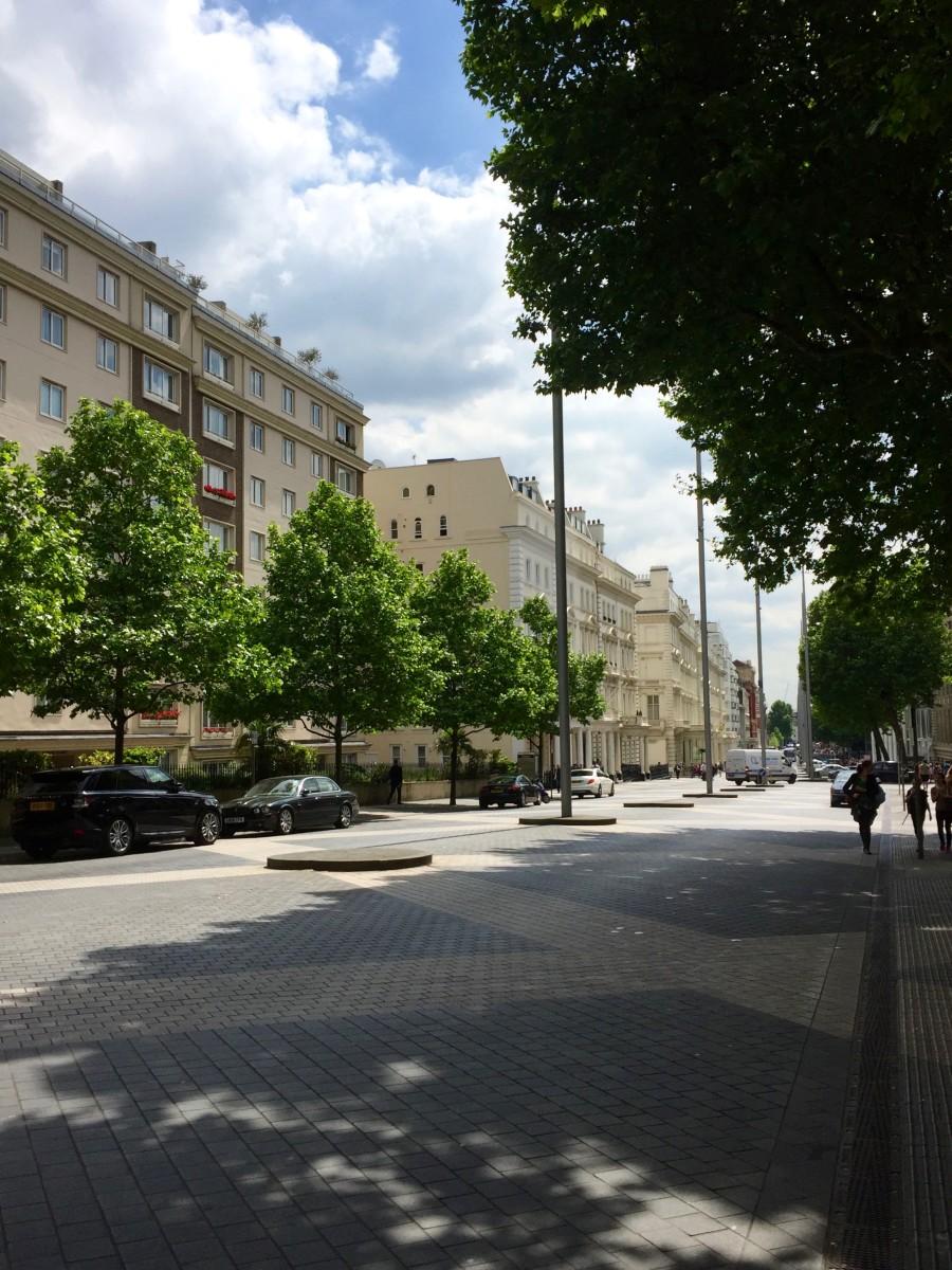Exhibition Road in South Kensington