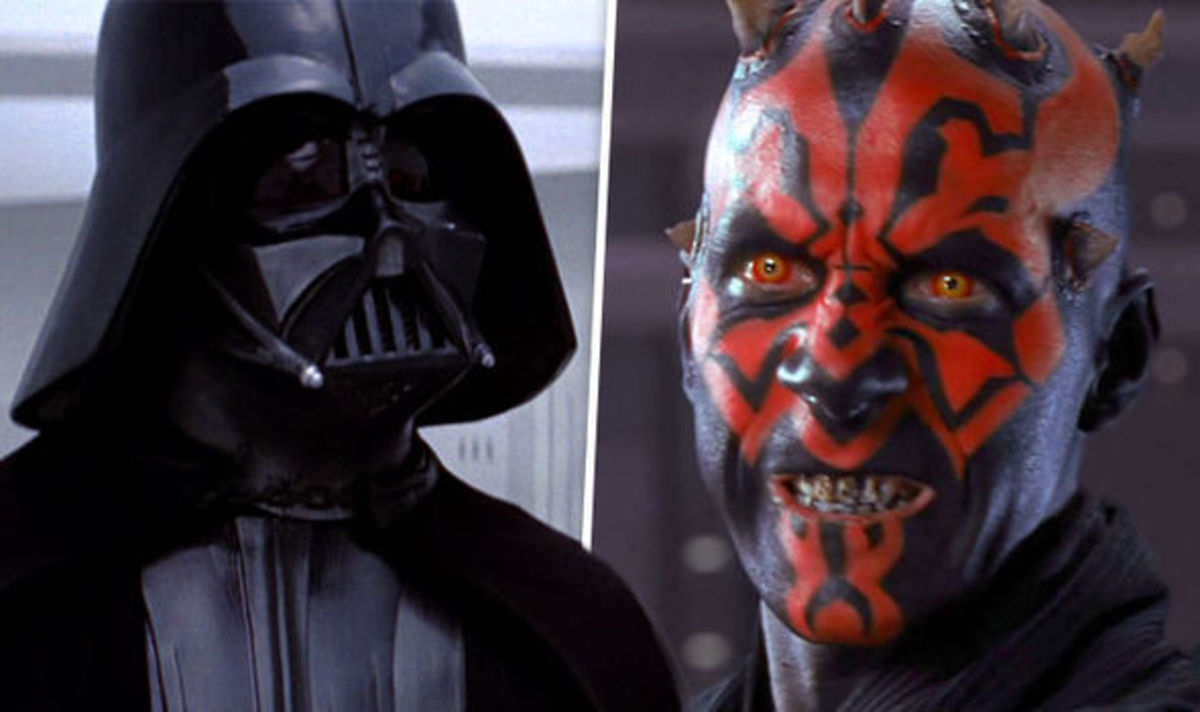 Darth Vader and Darth Maul