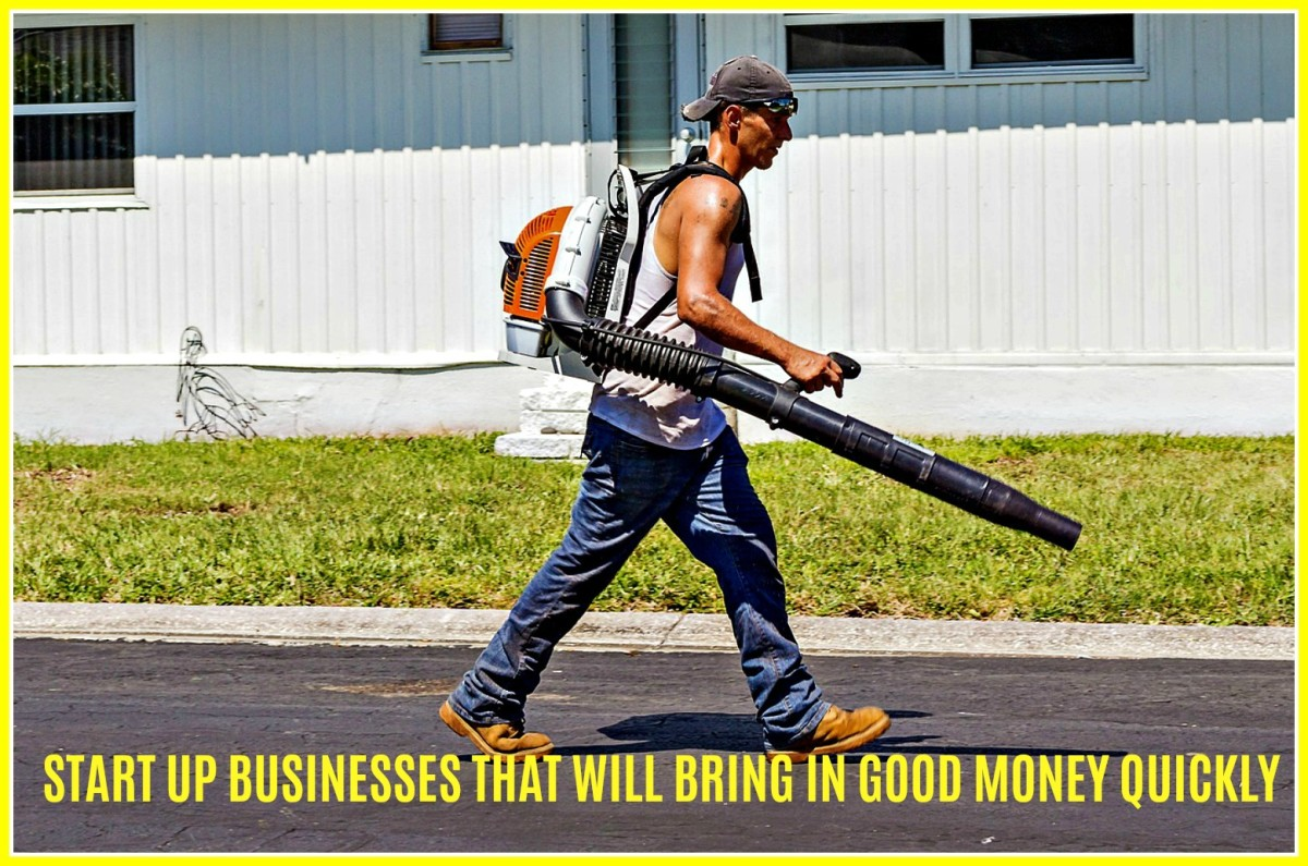 8 Small Businesses That Will Bring in Good Money Fast