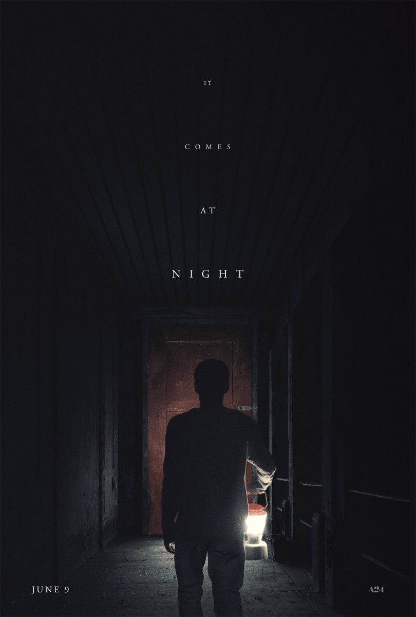 "The official one-sheet theatrical poster for ""It Comes at Night."""