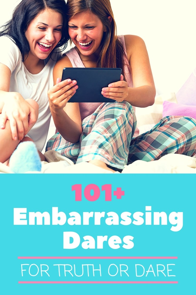 100+ Embarrassing Dares for Truth or Dare