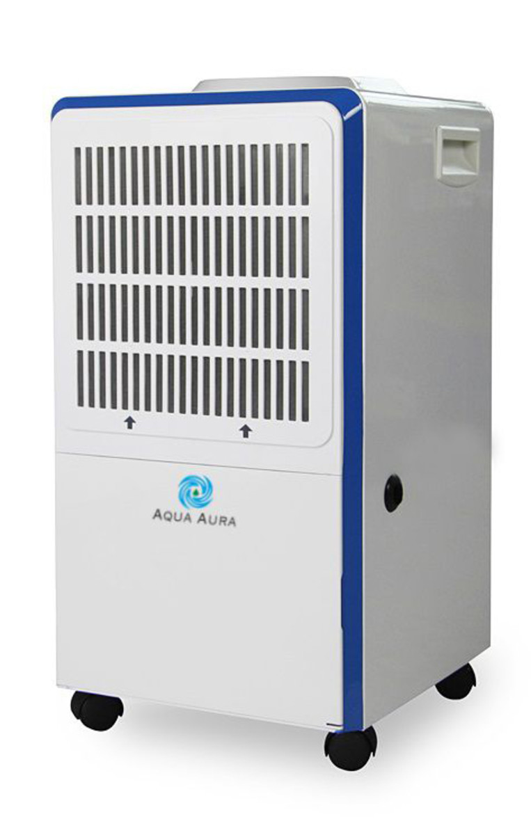 A portable dehumidifier. If your air conditioning unit is broken, or you do not have one, these can help ease the burden in humid weather. They also work extremely well for basements.