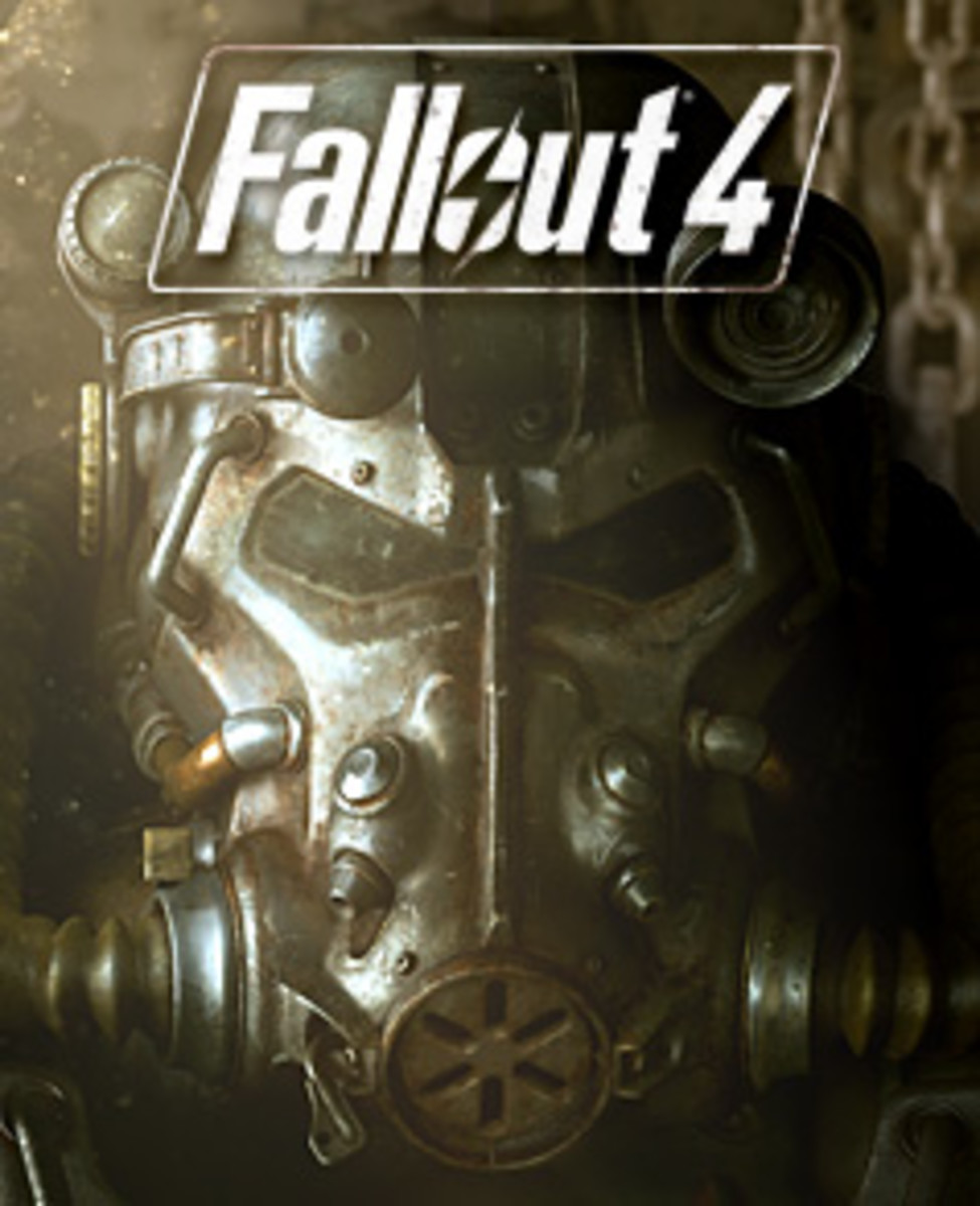 This is the cover art for Fallout 4. The cover art copyright is believed to belong to the distributor of the game or the publisher, Bethesda Softworks or the developers, Bethesda Game Studios.