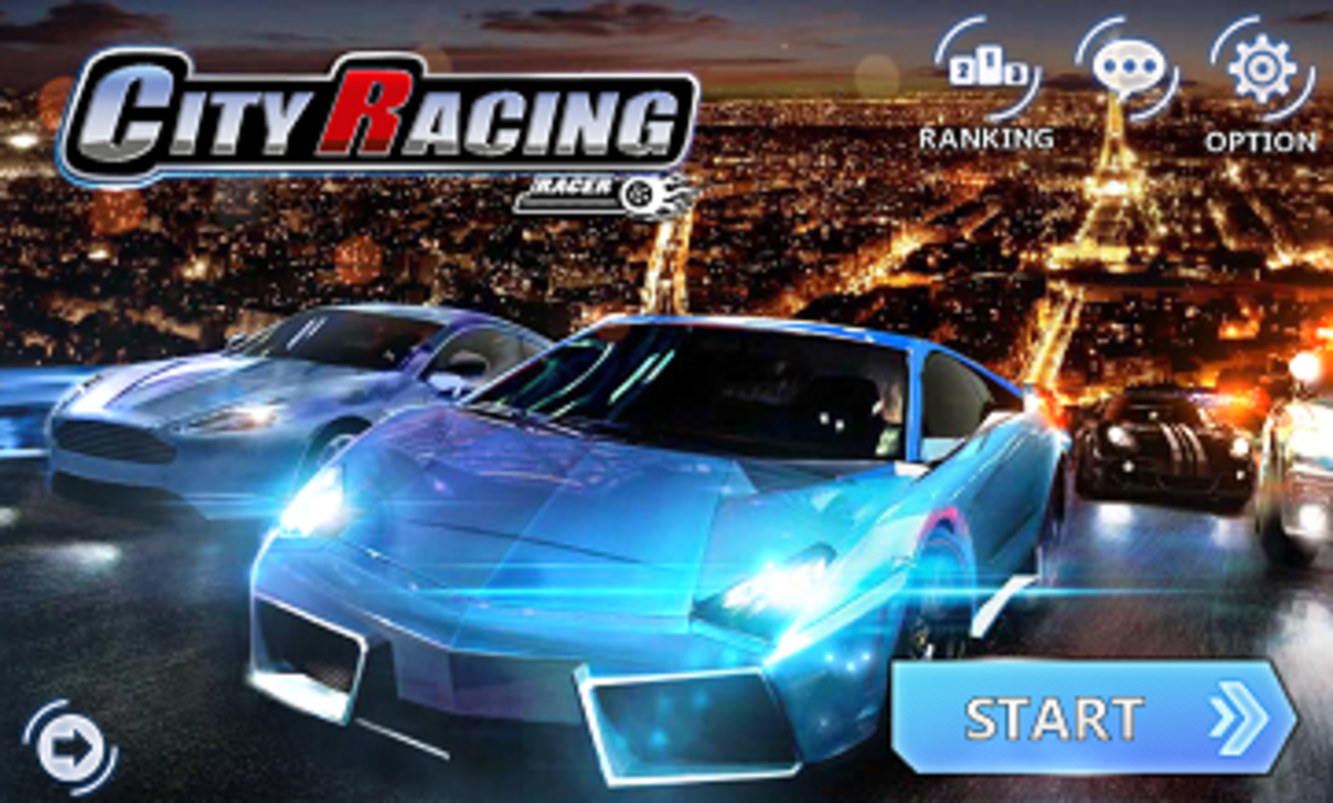 City Racing 3D Launch Screen