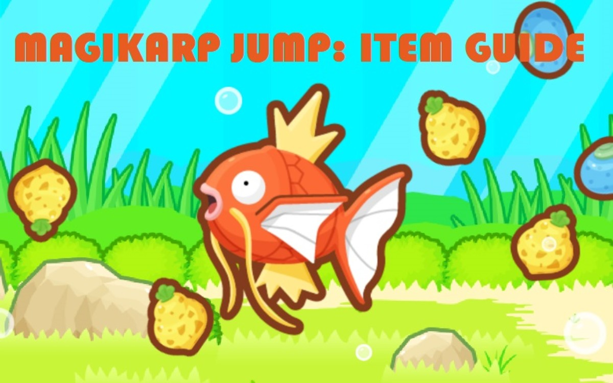 Magikarp Jump Item Guide