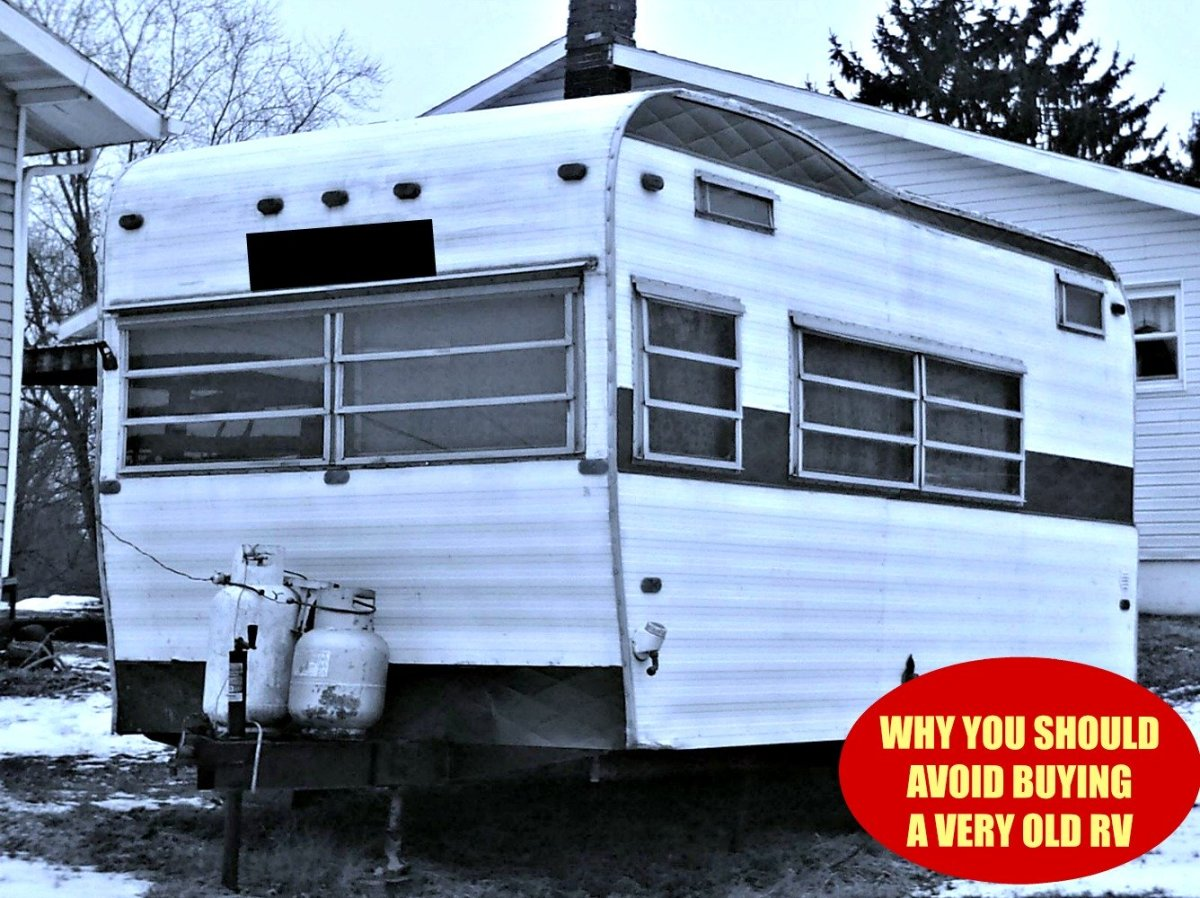 Buying older RVs can create many problems for owners.