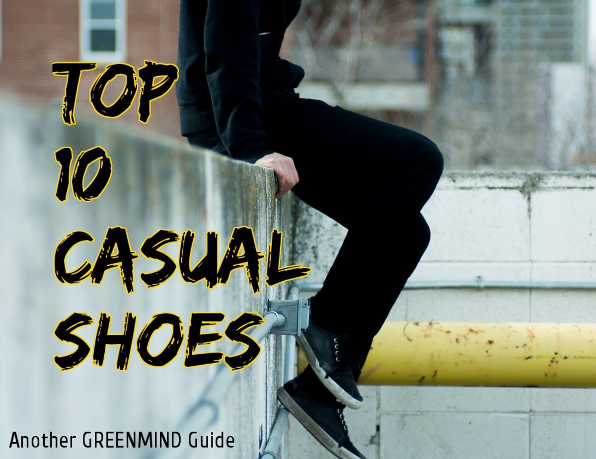 Top Ten Casual Shoes for Men