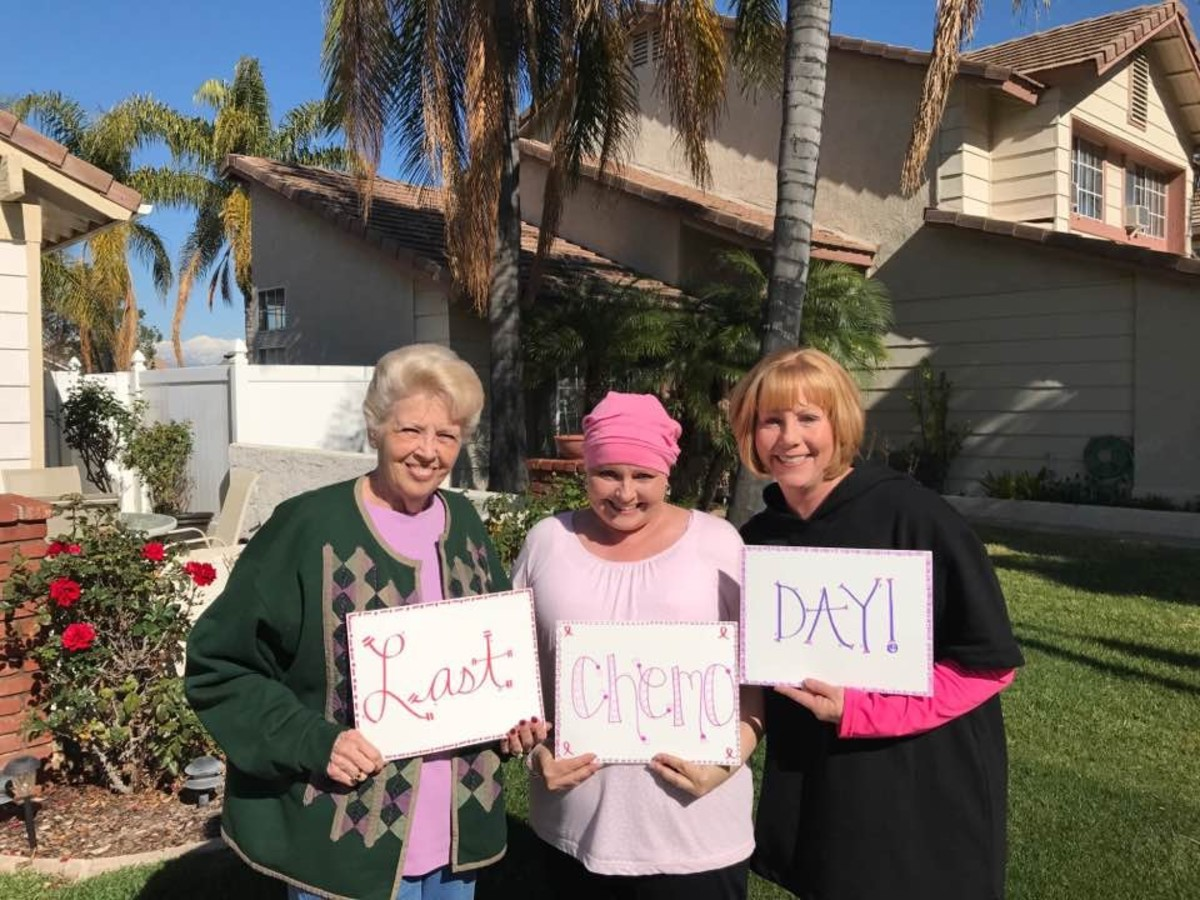 My Breast Cancer Adventure: Looks Like I Made It