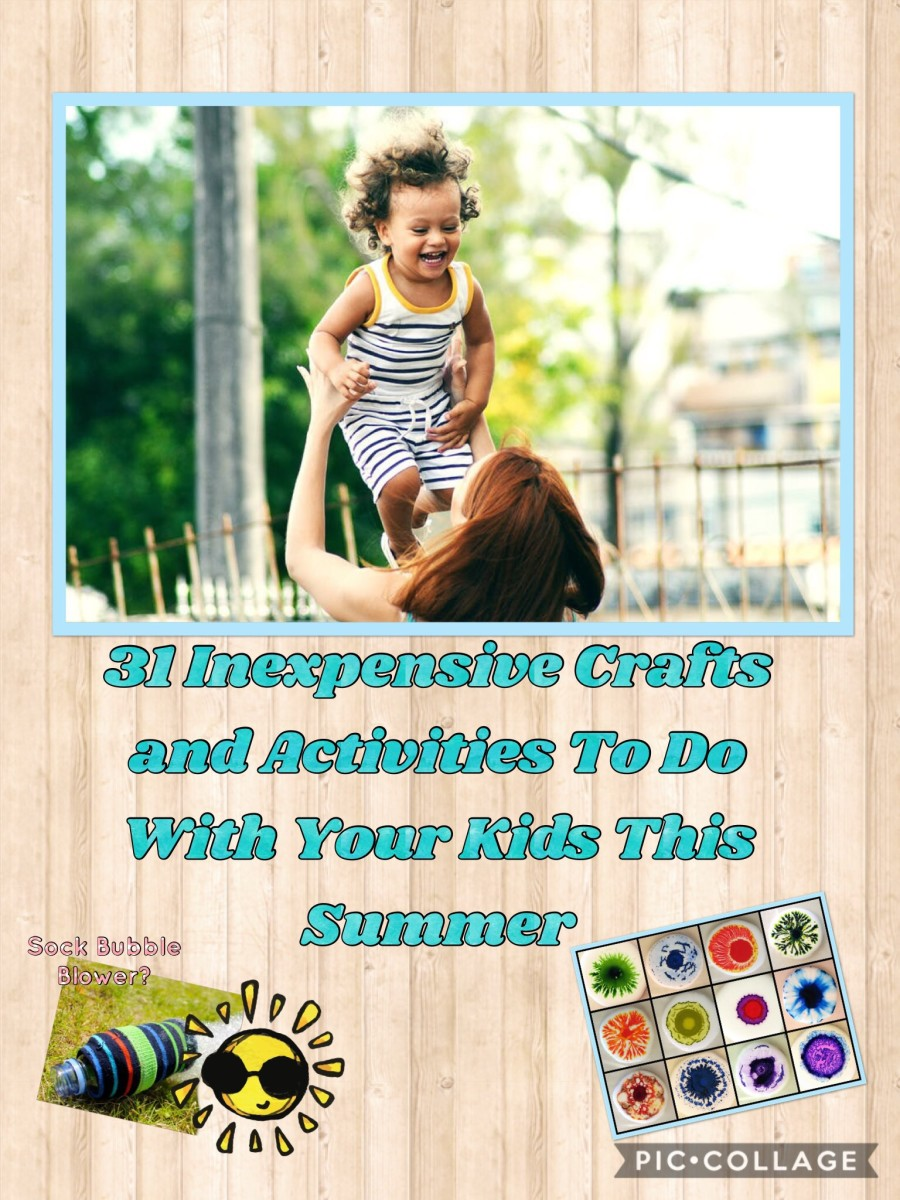 Looking for some cheap crafts and activities for kids?