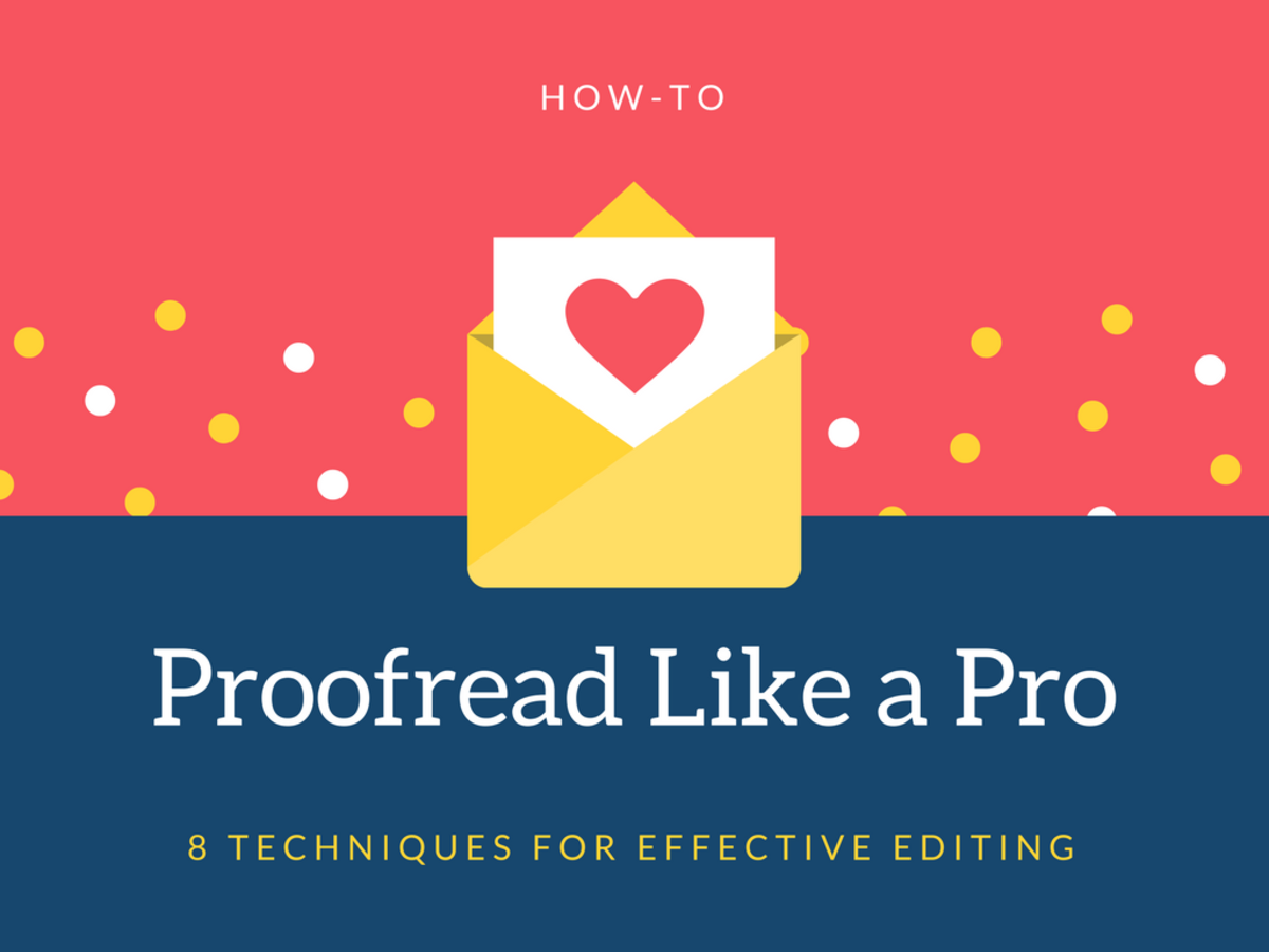 How to Proofread Like a Pro