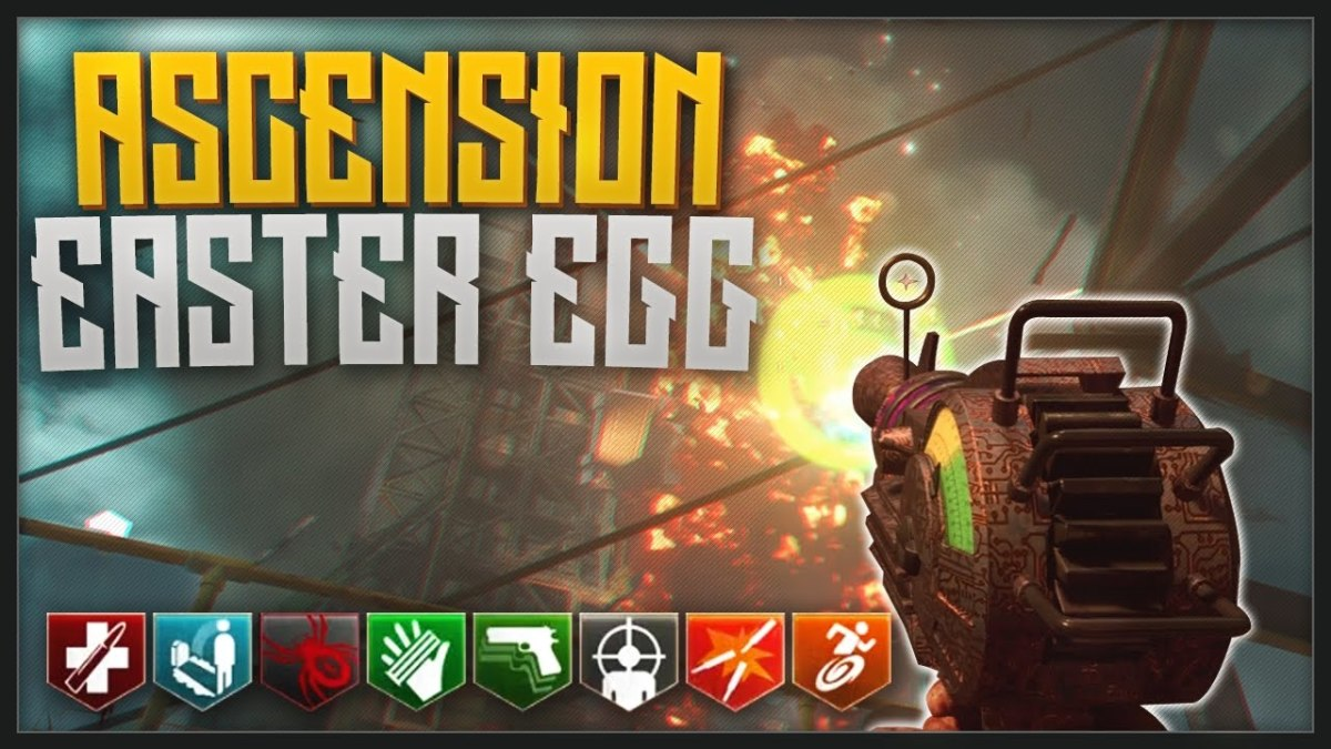 """Ascension has been remastered for """"Black Ops 3 Zombie Chronicles"""". It was the first map to feature an Easter egg. Follow this guide to complete the Easter egg and earn a trophy or achievement."""