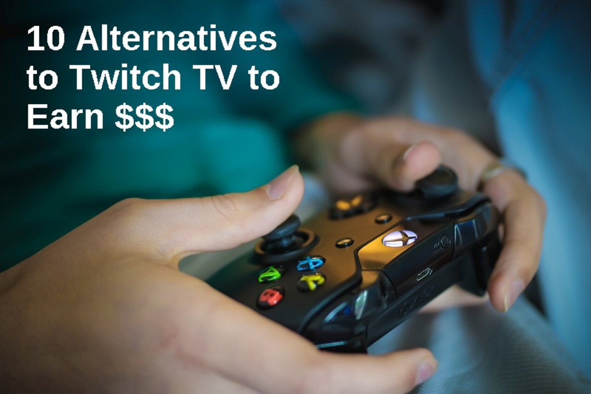 10 Sites Like Twitch TV to Learn and Earn from your Gaming Videos