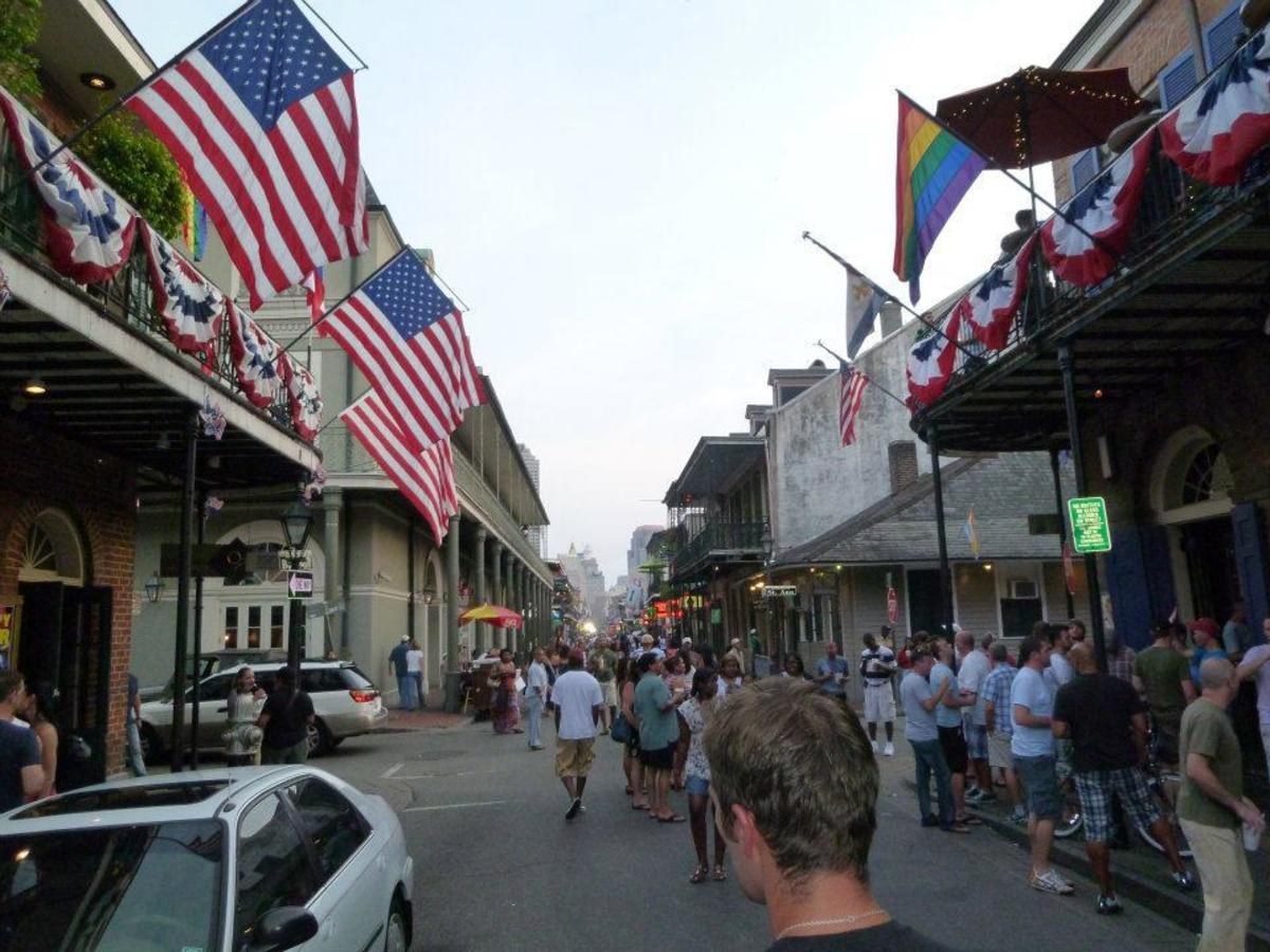 Spending the 4th July in the Big Easy