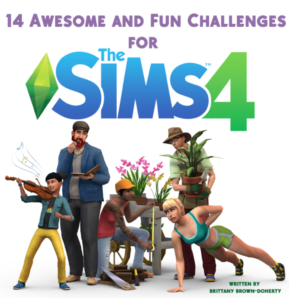 "Are you bored and looking for something to spice-up your ""Sims 4"" gameplay?  Here are 10+ awesome and fun challenges to play in ""The Sims 4""!"