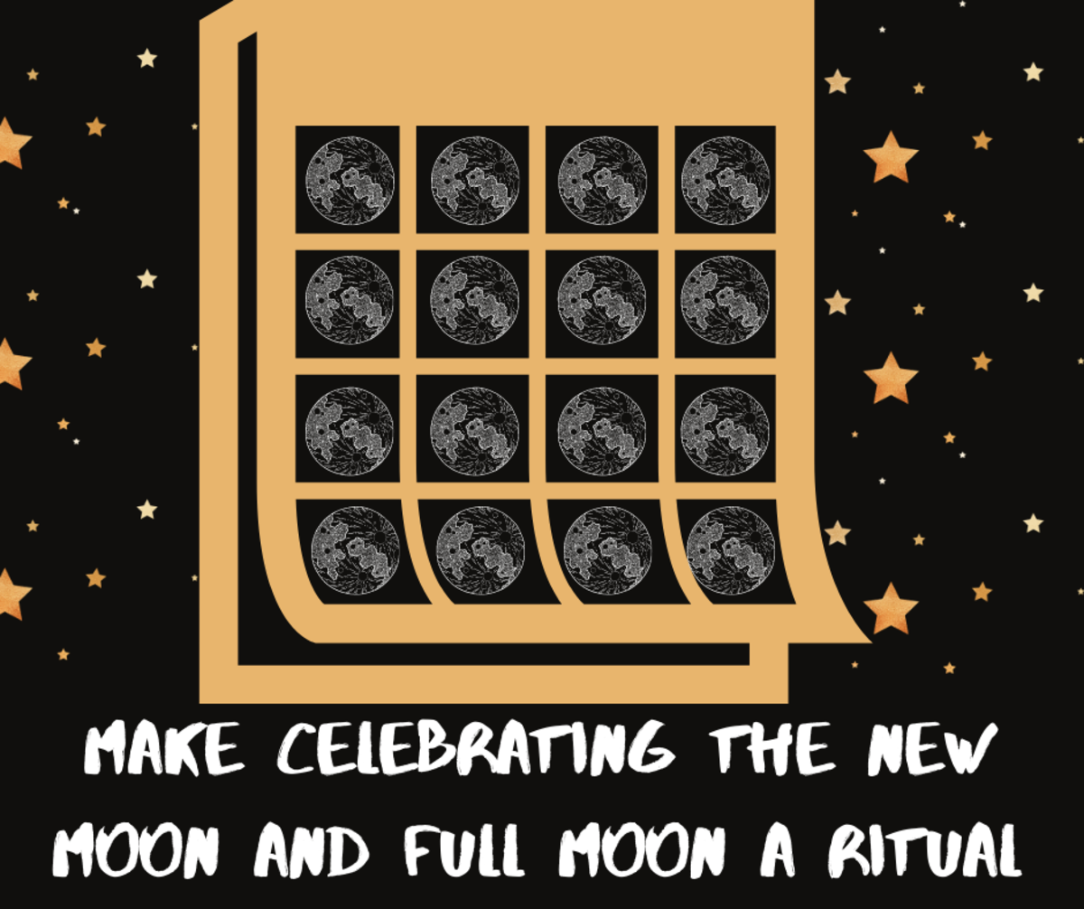 Read on to learn why you should have a New Moon/Full Moon gratitude ritual.