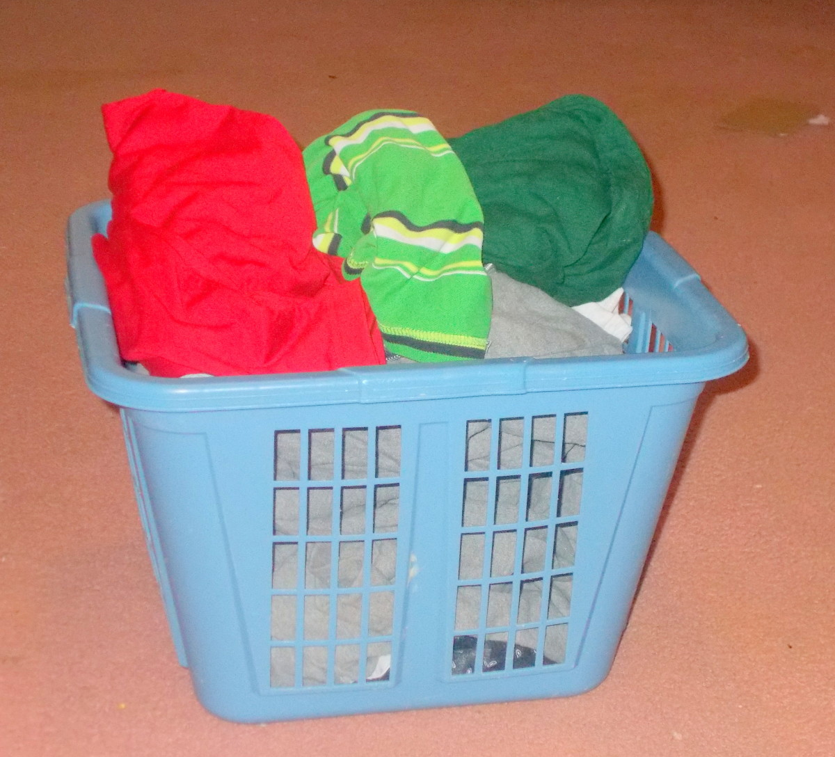 Doing the laundry can be challenging when a person has a vision loss.
