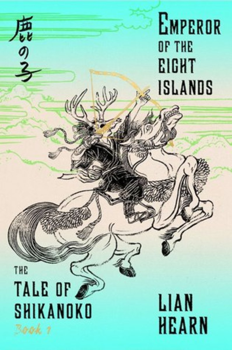 Cover art for Emperor of the Eight Islands by Yuko Shimizu