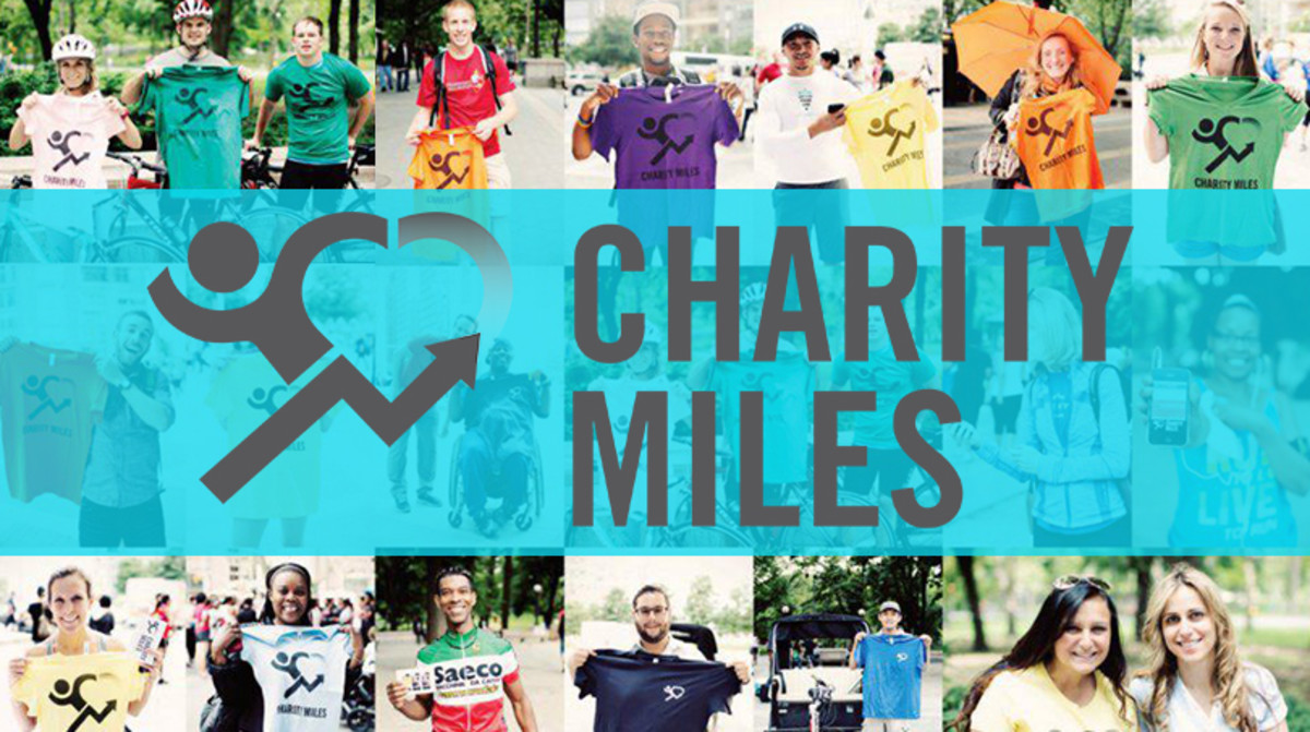 Change the World with Charity Miles, and Have Fun