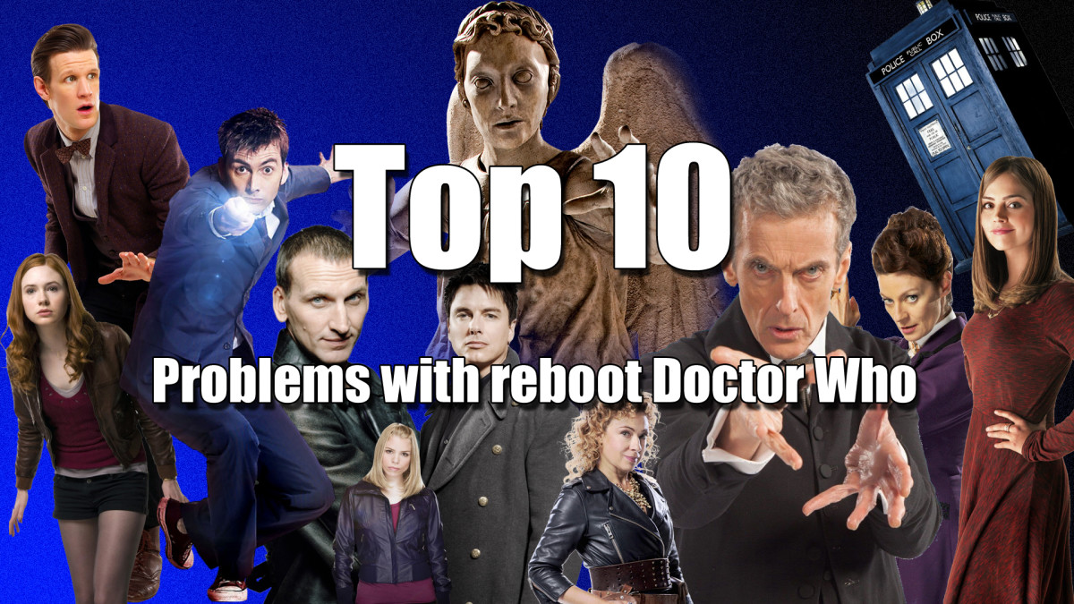 Top 10 Problems with Reboot Doctor Who