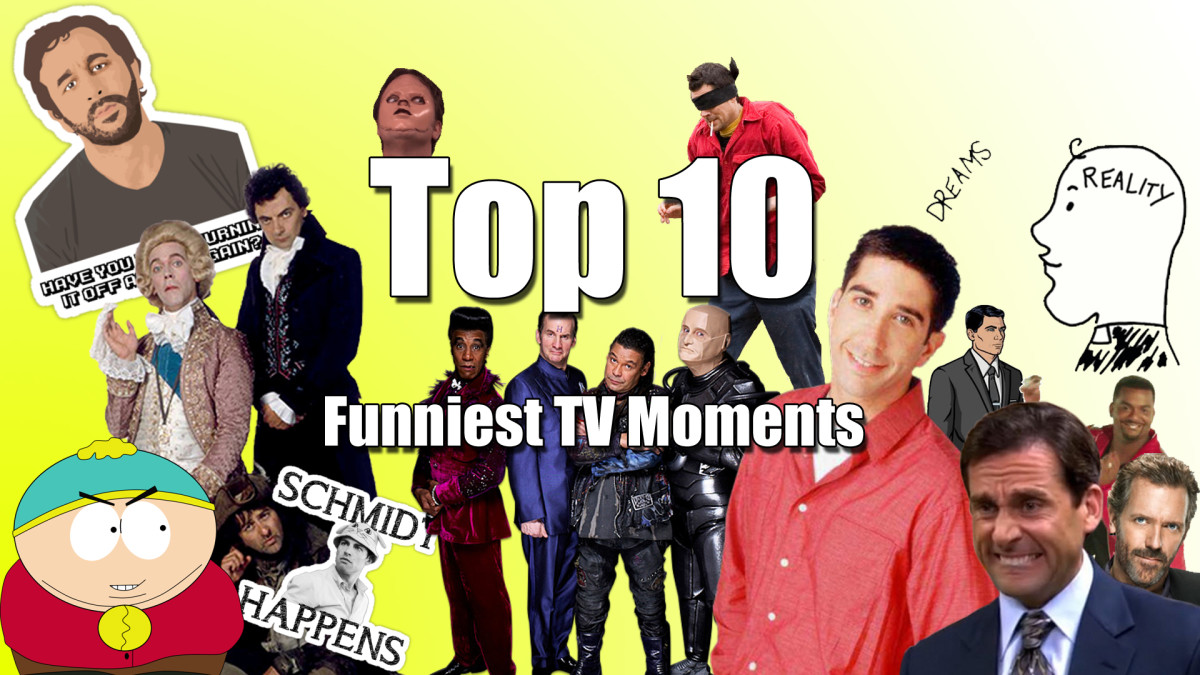 Top 10 Funniest TV Moments