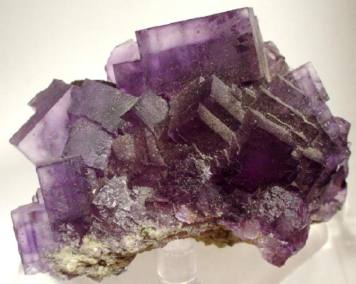 Purple fluorite is a useful crystal for reducing impulsivity.