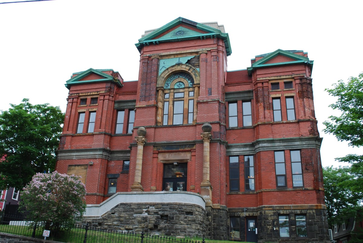 Ghosts of the Masonic Temple, and Other Haunted Places