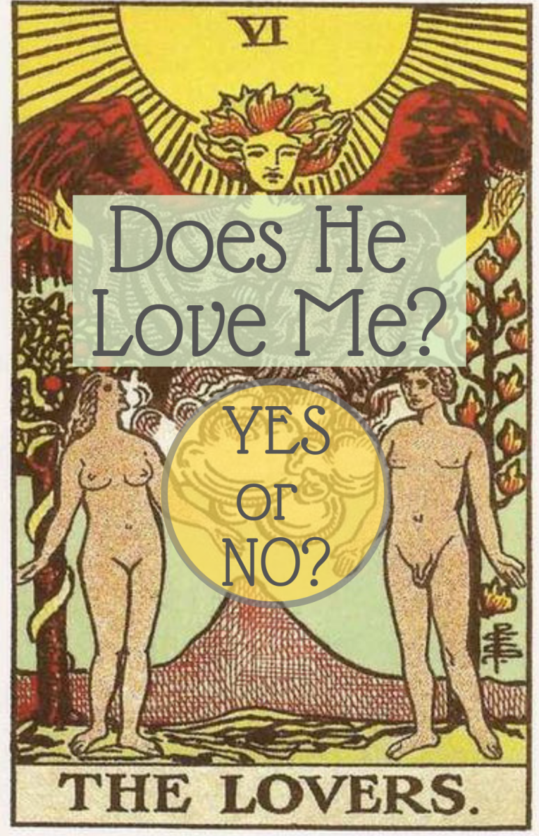 How to read tarot cards to get a simple yes or no answer for all your questions about love,  romance, and other relationships.