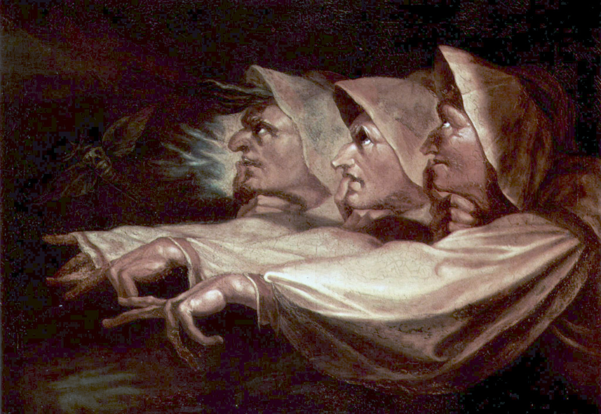 The Three Witches by Henry Fuseli (1783)
