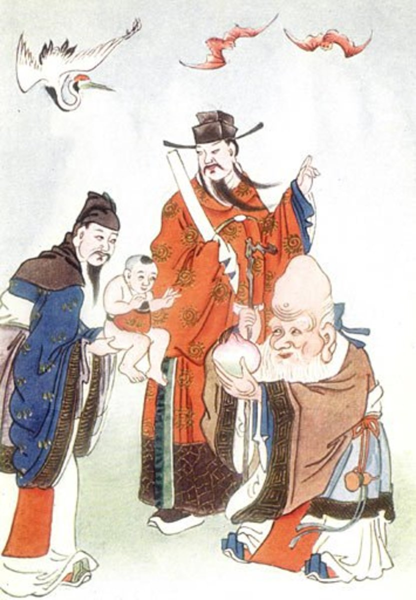 Ancient Depictions of Ginseng