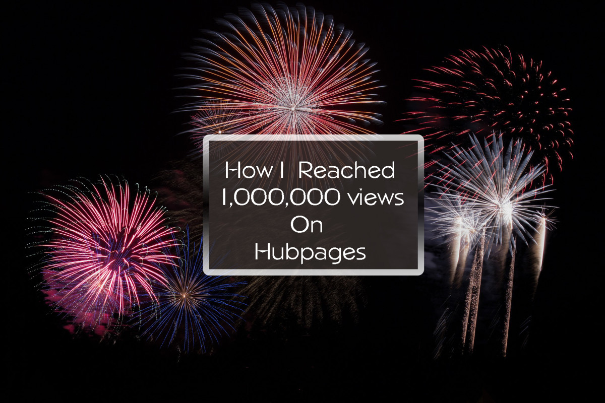 !,000,000 views on HubPages