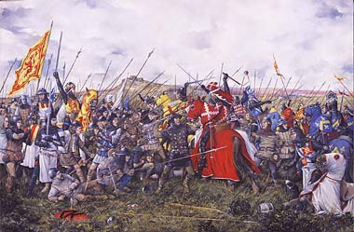 The Battle of Bannockburn by Brian Palmer