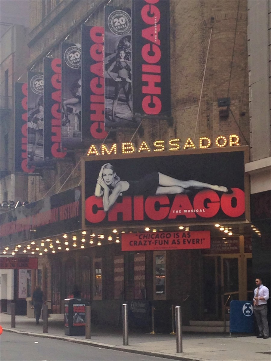 The long-running play, Chicago, has been one of the most popular things to do in Times Square for almost 20 years.