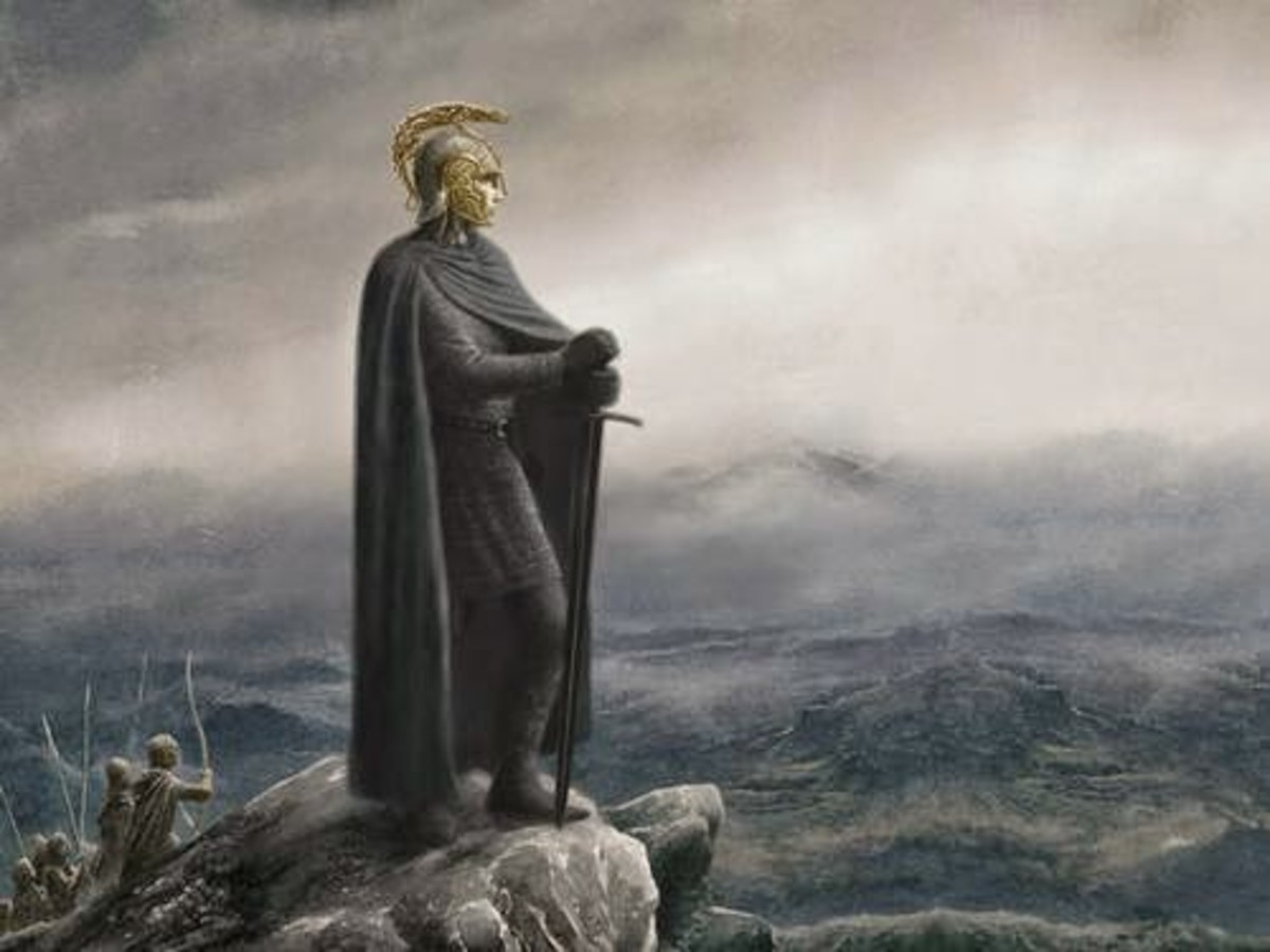 Book cover for Children of Hurin by Alan Lee.