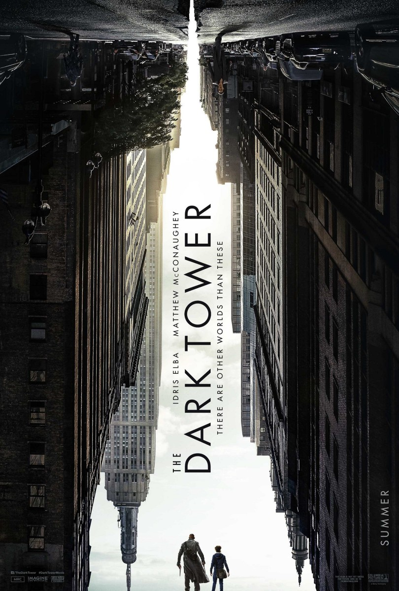"One of several official one-sheet theatrical posters for ""The Dark Tower."""