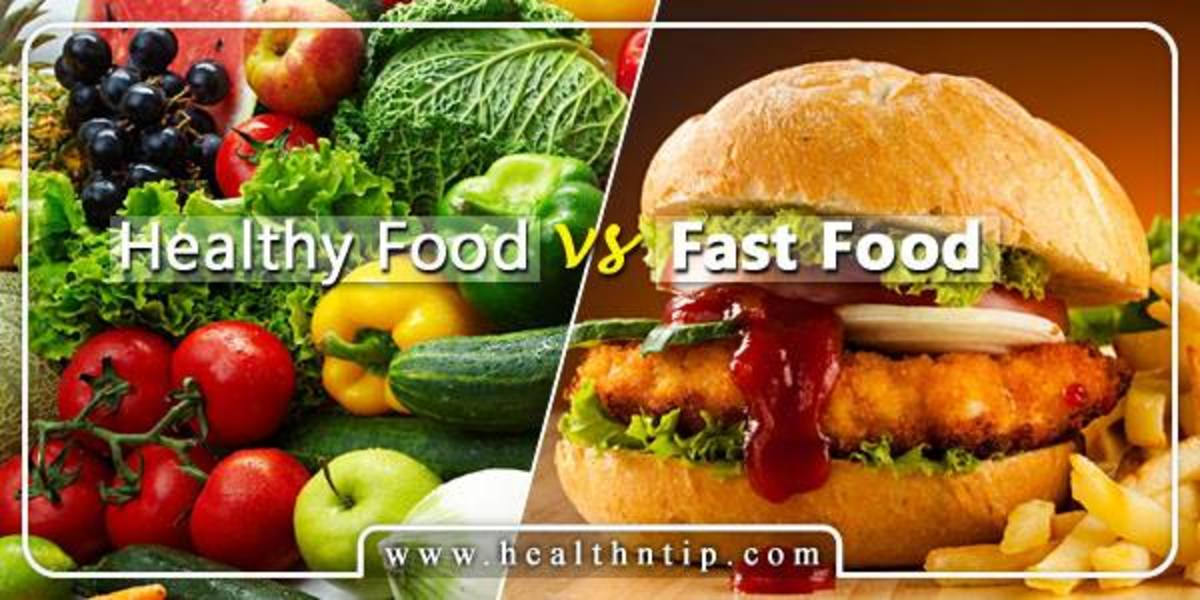 fast foods vs home made foods I don't think you can beat home made food, especially if you can get someone else to make it it is so warm and comforting and you know exactly what has gone into it, plus if you can get someone else to make it, it is as good as fast food.