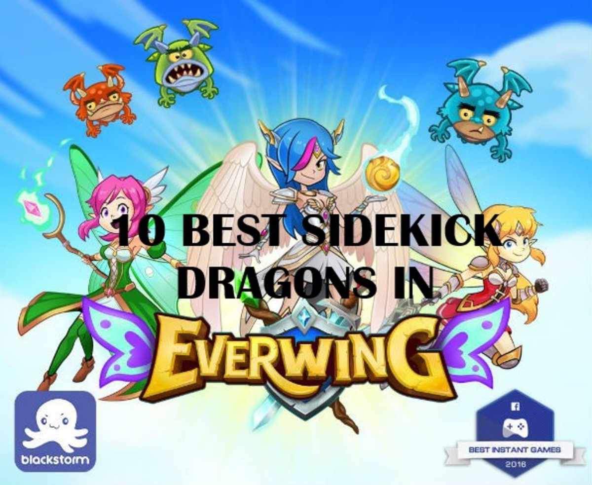10 Best Sidekick Dragons in EverWing