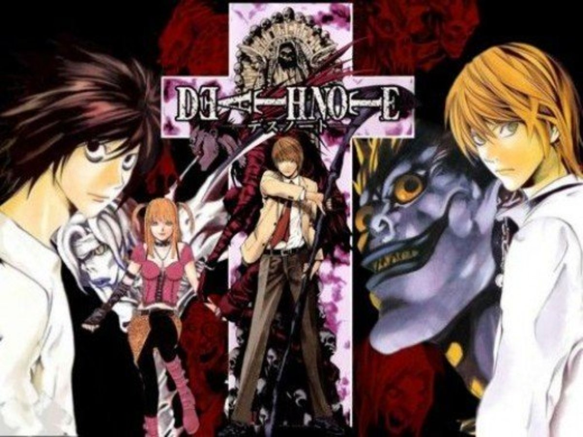 Anime Analysis  Review Death Note  Reelrundown