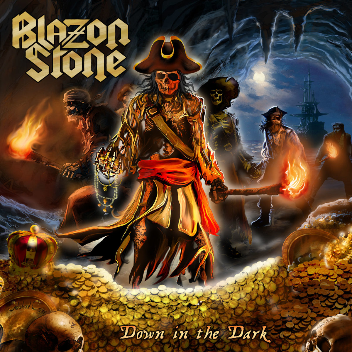"Blazon Stone ""Down in the Dark"" (2017) Album Review"