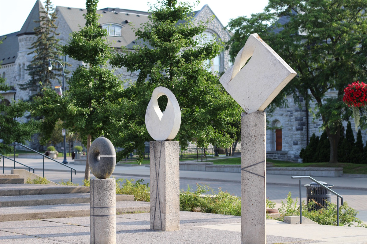 Sculptures in Kingston, Ontario: A Photo Essay