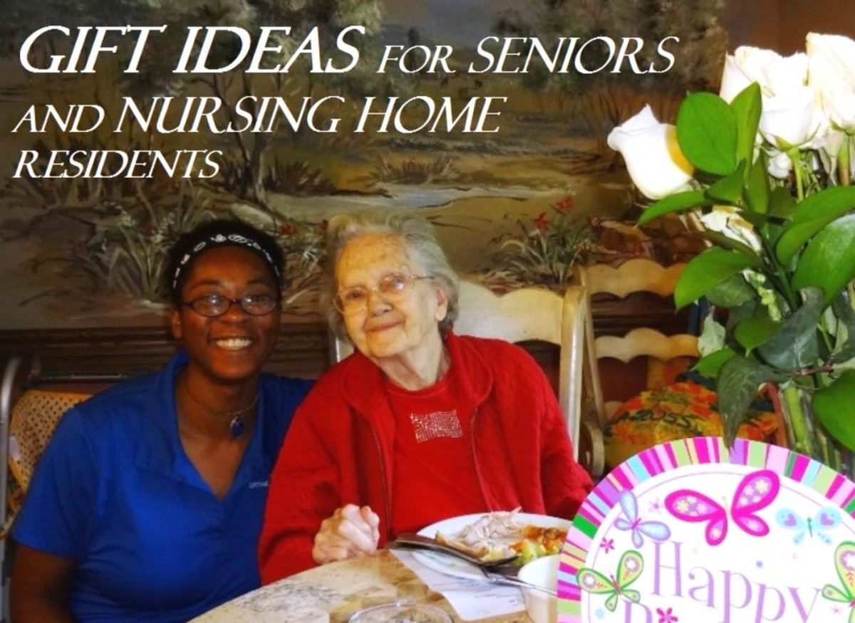 Gift Ideas for Seniors and Nursing Home Residents