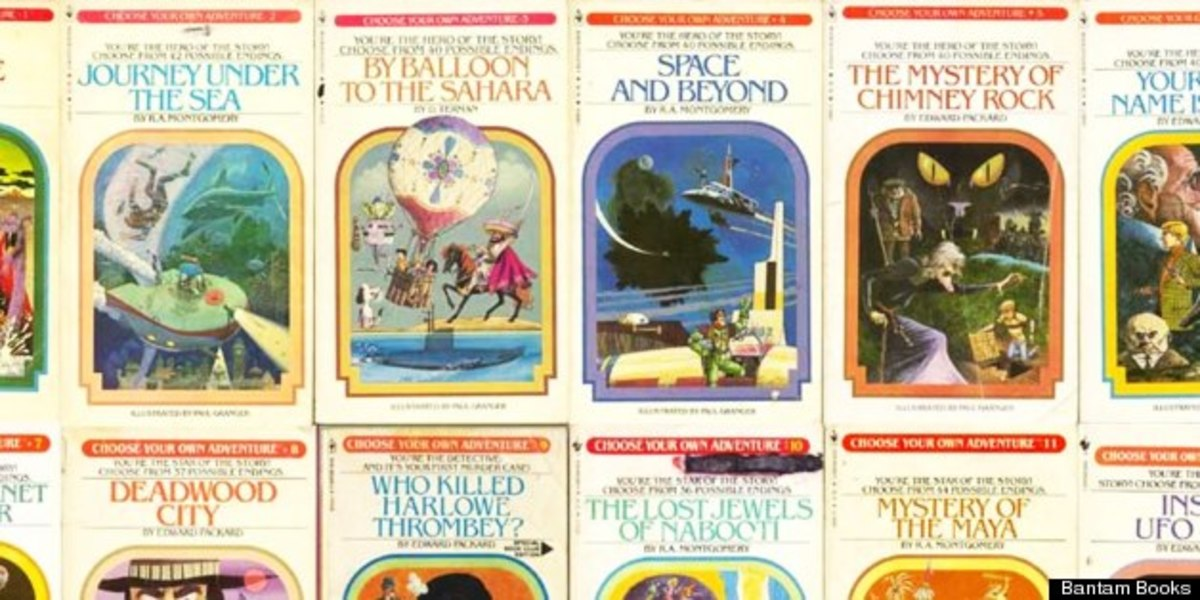 Choose Your Own Adventure. The most famous gamebook series, and one that's perfect for an open-world video game.