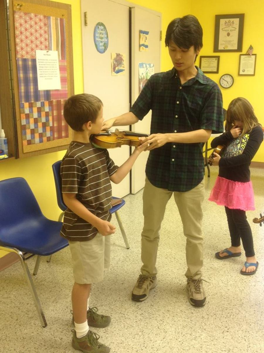 Learning the Violin (or Any Instrument) as a Child, Teenager, or Adult